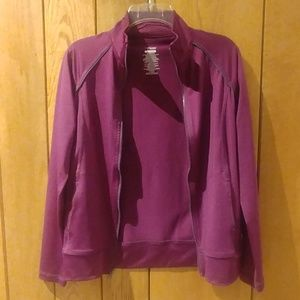 EUC Danskin Now Purple Dri-more Fitted Jacket XS